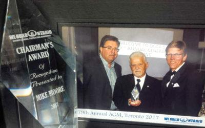 OGCA 2017 Chairman's Award Presentation