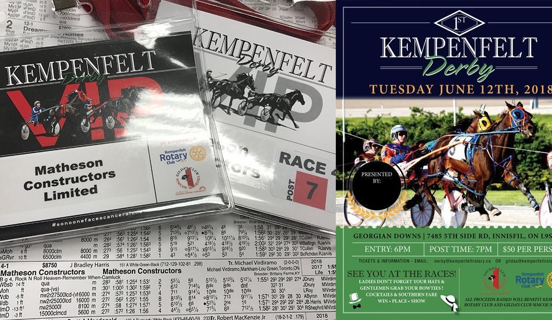 Sponsored 1st Annual Kempenfelt Derby