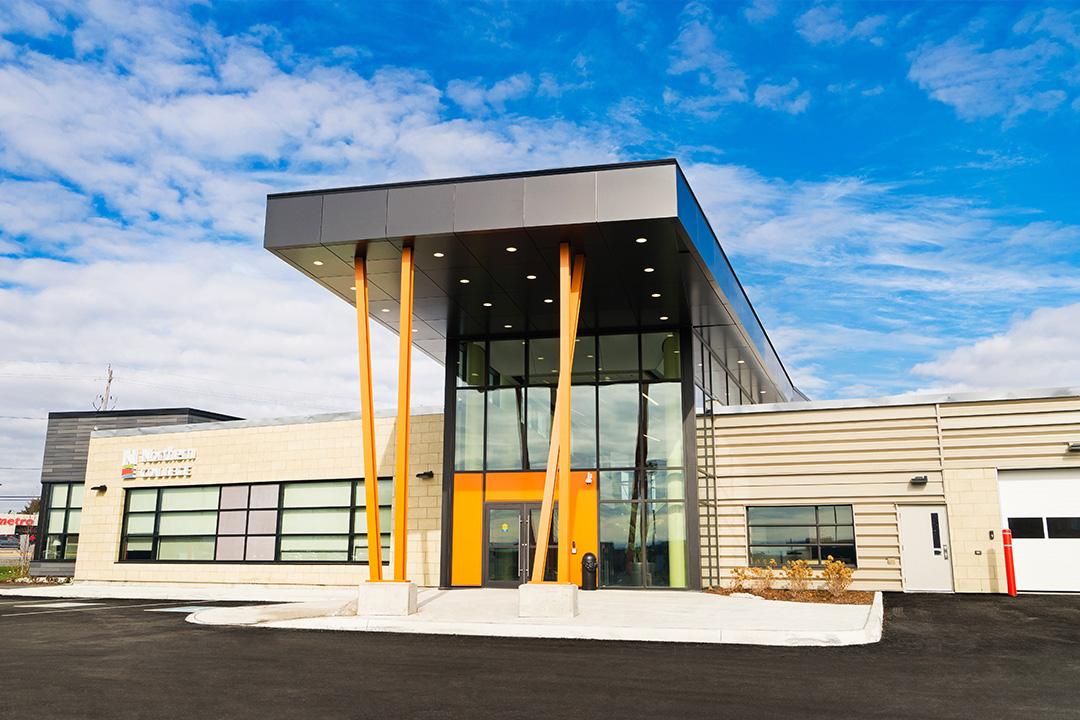 Northern College EMS Building Slide 2