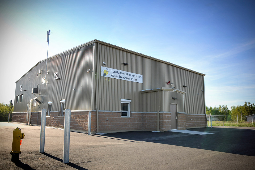 Constance Lake First Nation Water Treatment Plant